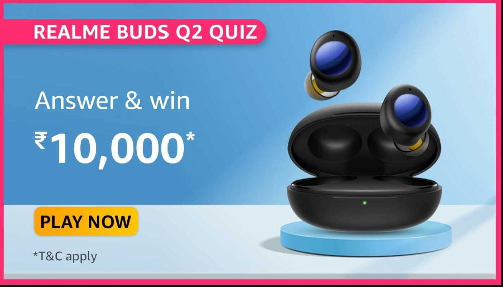 Read more about the article Which is the Latest True Wireless Earbuds recently lauched by realme among the following? Hint: The first sale of this earbuds will be on 30th June, 12 PM