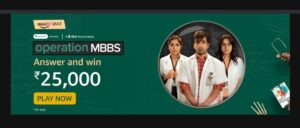 Read more about the article The 'Operation MBBS' chronicles the life of__?