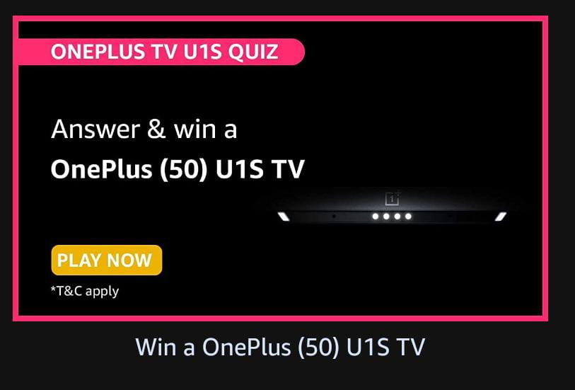 You are currently viewing Which comedian did OnePlus partner with for an unboxing of OnePlus TV Y series?