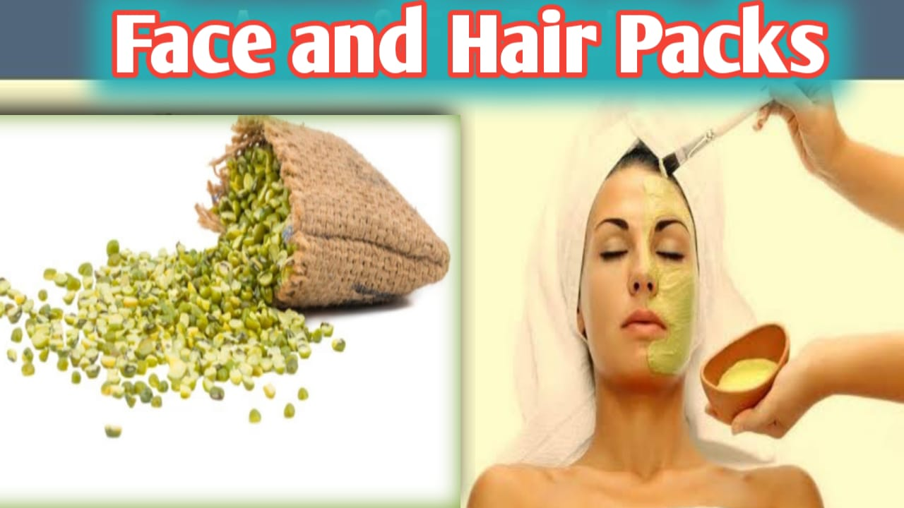 You are currently viewing 9 Amazing Homemade Green Gram Face And Hair Packs