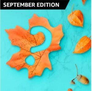Read more about the article September gets its Latin name Septem meaning what    Amazon Quiz Answers : Chance to win 5,000