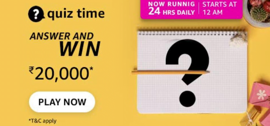 You are currently viewing Amazon Quiz Answers 8 September 2021 | In July 2021 the world's first 3D-printed steel bridge was opened to the public in which city? – Amazon Quiz Answer : Chance to Win 20,000