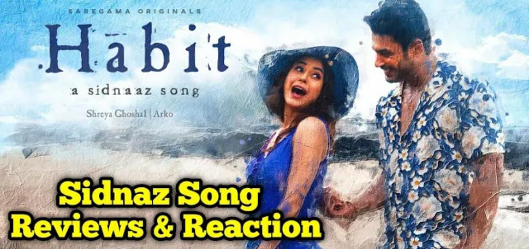 Read more about the article Habit Song Reviews || Habit Song Sidnaaz Reaction || Habit Sidharth Shukla Last Song